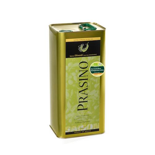 Prasino BIO Olivenöl im 5-Liter-Kanister