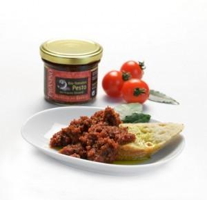 BIO Tomatenpesto mit Prasino Olivenöl