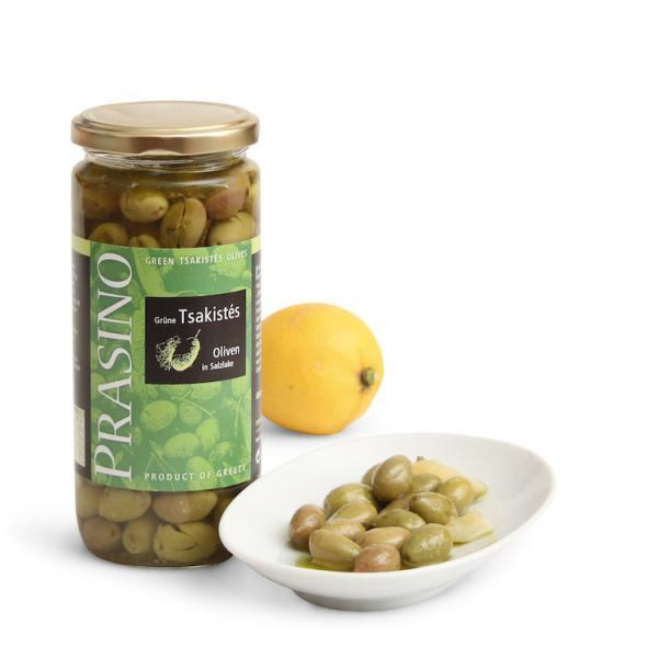 Grüne Tsakistés Oliven | Prasino