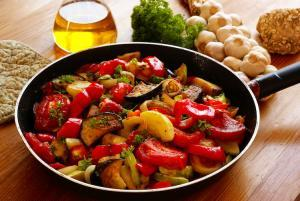 Kochen mit Olivenöl | Prasino