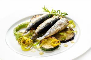 Sardinen in Olivenöl gebraten | Prasino