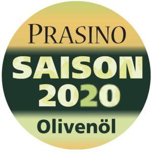 Prasino Saison Olivenöl 2020