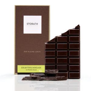 Schokolade mit Olivenöl